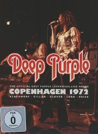 Cover Deep Purple - Copenhagen 1972 [DVD]